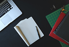 Notepad-on-desk