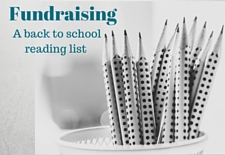 Fundraising--A back to school reading list