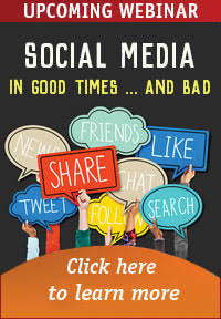Social media in good times...and bad