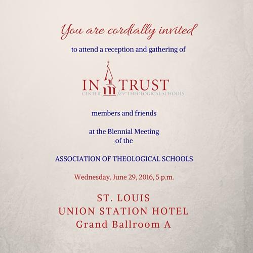 Reception Invitation 2016